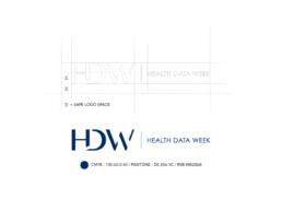 Health data week - infografika - Webdesigner - graphiste - fabrice vermeulen - branding - print - charte graphique - Health data week - logo - charte graphique