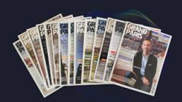 Grand Paris Développement - fabrice Vermeulen - Direction artistique & layout - infografika - print