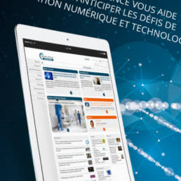 Health Tech Intelligence fabrice vermeulen - infografika -digital designer - graphiste -layout - advertising - print - Health Tech Intelligence - publicité