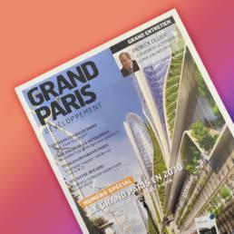 Grand Paris Développement - fabrice Vermeulen - Direction artistique & layout
